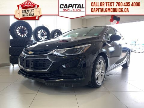 Certified Pre-Owned 2018 Chevrolet Cruze LT | HEATED SEATS | BACKUP CAMERA | SUNROOF | 22K KMS