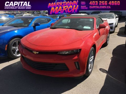 New 2018 Chevrolet Camaro LS