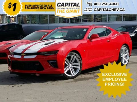 New 2018 Chevrolet Camaro SS / $1 OVER INVOICE!