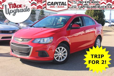 Pre-Owned 2018 Chevrolet Sonic LT | REMOTE START | HEATED SEATS | REAR CAMERA | 35K KMS