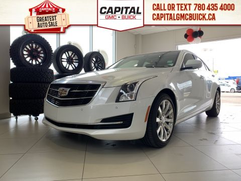 Certified Pre-Owned 2018 Cadillac ATS Sedan LUXURY AWD | CLEARANCE SPECIAL TRIP FOR 2 TO VEGAS INCL. | 28K KMS