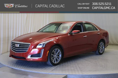 Certified Pre-Owned 2018 Cadillac CTS Sedan Luxury AWD*SUNROOF*NAV*LEATHER*
