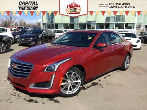Pre-Owned 2018 Cadillac CTS Sedan Luxury AWD
