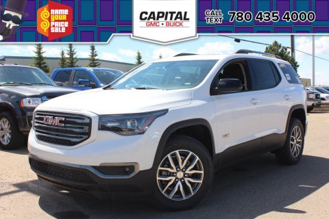 Pre-Owned 2018 GMC Acadia SLE-2 AWD ALL TERRAIN | FIVE PASSENGER SEATING | REMOTE START | HEATED SEATS | POWER LIFTGATE |
