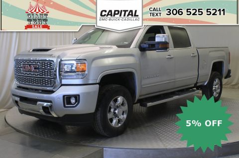New 2019 GMC Sierra 3500HD Denali Crew Cab