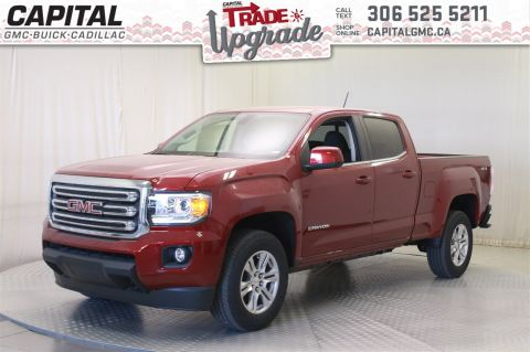 New 2019 GMC Canyon 4WD SLE Crew Cab