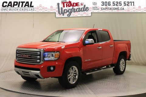 Certified Pre-Owned 2016 GMC Canyon 4WD SLT Crew Cab *Leather*