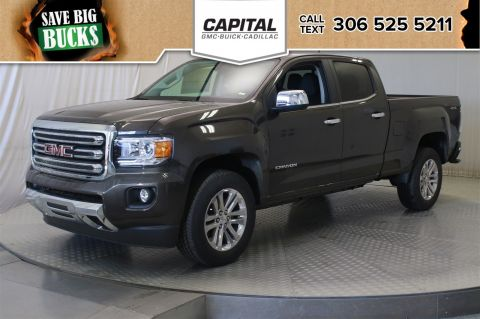 New 2019 GMC Canyon 4WD SLT Crew Cab