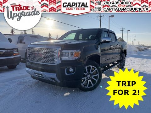 Pre-Owned 2017 GMC Canyon Crew Cab 4WD Denali