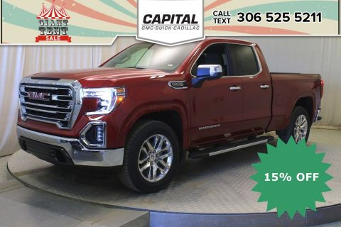 New 2019 GMC Sierra 1500 SLT Double Cab