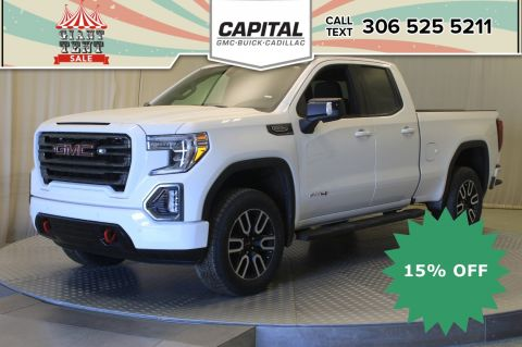 New 2019 GMC Sierra 1500 AT4 Double Cab