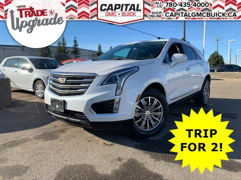 Pre-Owned 2018 Cadillac XT5 LUXURY AWD | ADAPTIVE REMOTE START | PARK ASSIST | HEATED SEATS & STEERING | 38K KMS