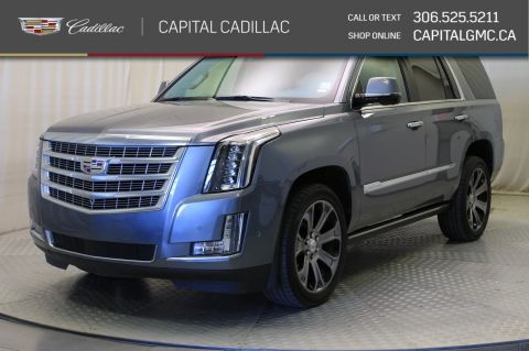 Certified Pre-Owned 2018 Cadillac Escalade Premium Luxury 4WD*LEATHER*SUNROOF*NAV*