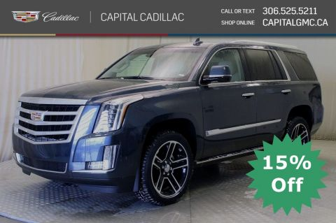 New 2019 Cadillac Escalade Premium Luxury*Power Steps - Blu-Ray Entertainment Pkg - Sunroof*