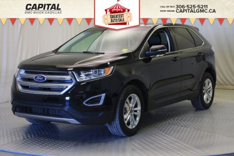 Certified Pre-Owned 2017 Ford Edge SEL AWD*LEATHER*SUNROOF*NAV*