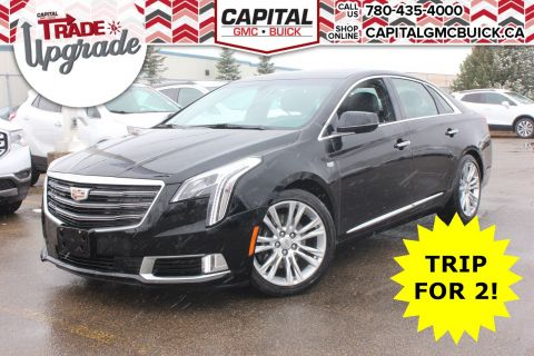 Pre-Owned 2018 Cadillac XTS LUXURY AWD | HEATED SEATS & STEERING | REMOTE START | SUNROOF | 23K KMS