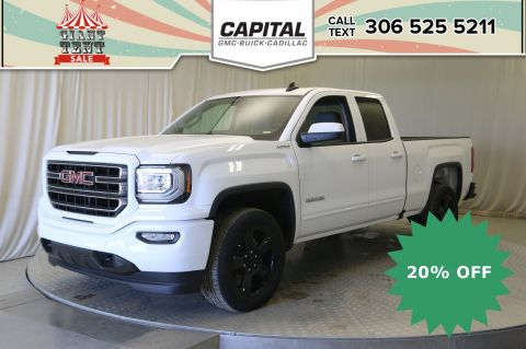 New 2019 GMC Sierra 1500 Limited Double Cab*4x4-Elevation Edition-Rear Defrost*