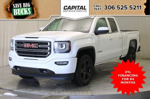 New 2019 GMC Sierra 1500 Limited Double Cab*4x4-Elevation Edition*