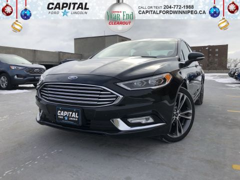 Pre-Owned 2018 Ford Fusion Titanium AWD ASK US ABOUT THE 2.9% FINANCING