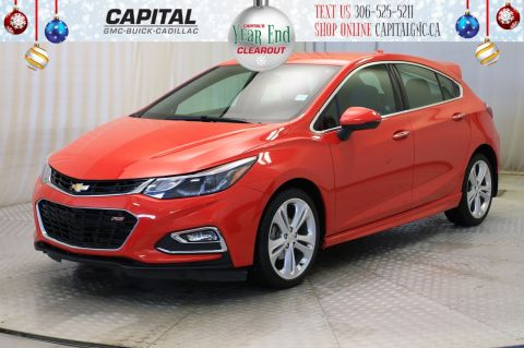Certified Pre-Owned 2018 Chevrolet Cruze Premier HB*LEATHER*