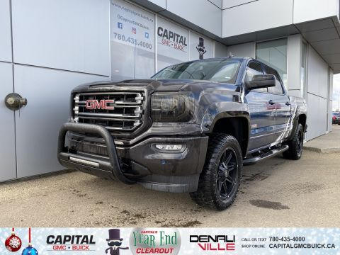 Pre-Owned 2018 GMC Sierra 1500 CREW CAB SLT ALL TERRAIN | LEVELING KIT | BRAND NEW