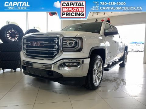 Pre-Owned 2018 GMC Sierra 1500 BRAND NEW | Crew Cab SLT | HEATED/COOLED SEATS | HEATED STEERING