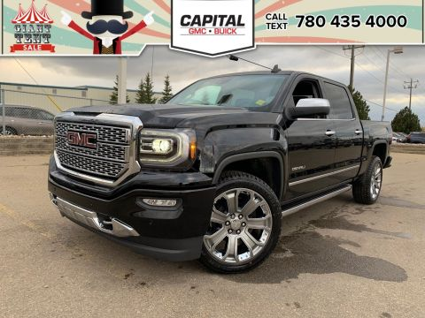 Pre-Owned 2018 GMC Sierra 1500 BRAND NEW | CREW CAB DENALI | HEATED & COOLED SEATS | HEATED STEERING WHEEL | SUNROOF