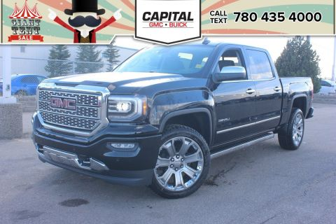 Pre-Owned 2018 GMC Sierra 1500 BRAND NEW | Crew Cab Denali