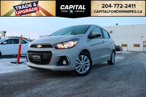Pre-Owned 2017 Chevrolet Spark LT HB LOCAL ONE OWNER TRADE ONLY 8500KM WINTER TIRES INCLUDED